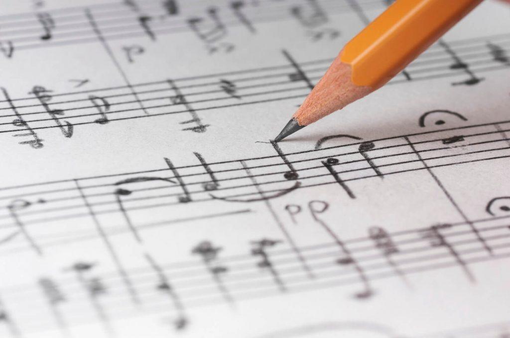Handwritten Music Notation